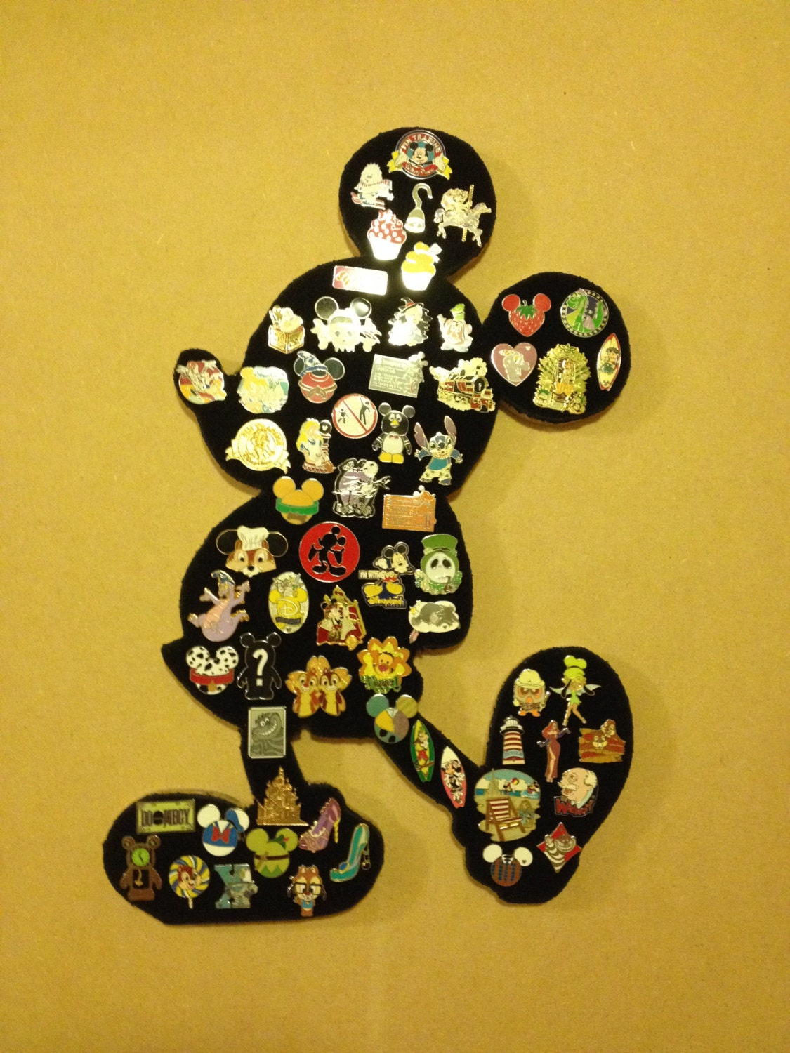 Disney Bathroom Ideas Disney Mickey Mouse Pin Display Board Showcase And Hold Your