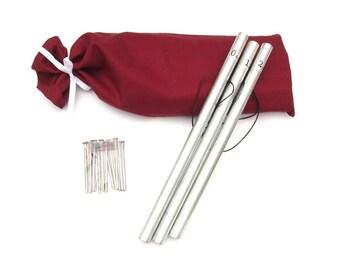 Pipe Chimes, Bag, Metal Strikers