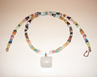 Genuine gemstone necklace. Designed and crafted by Lynn Marie.