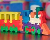 Train - Handmade Wooden Puzzle