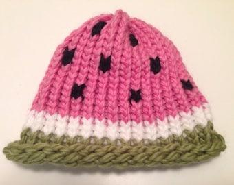 Watermelon Knit Hat