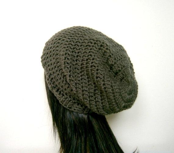 CROCHET HAT PATTERN, Crochet Pattern, Slouchy Hat Pattern ...