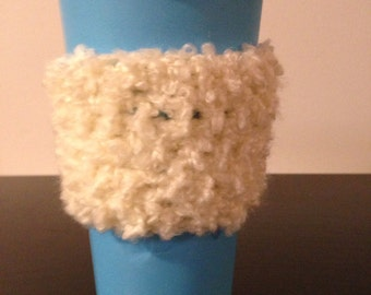 Light Cream Coffee Cozy