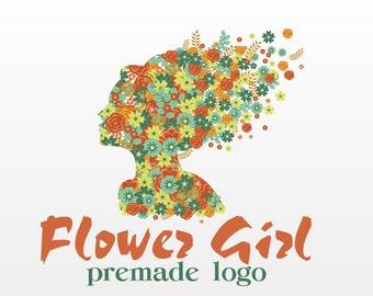 Logo Design - Pre-made Logo Flower Girl