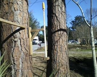 Squirrel spinner, squirrel feeder, squirrel play, squirrel playground, yard decor