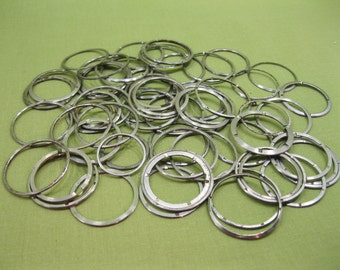 Watch Parts, 10  pcs Watch Month Date Dial Rings, Movement Gears, For Steampunk Altered Art Gear, Jewelry