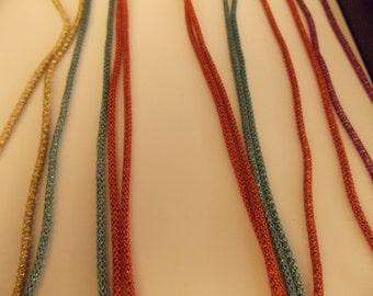 Single strand Silversilk Necklace