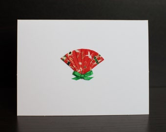 Small Japanese Fan (Small Card 4x5.5 inches)