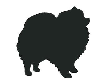 Pomeranian Decal Etsy