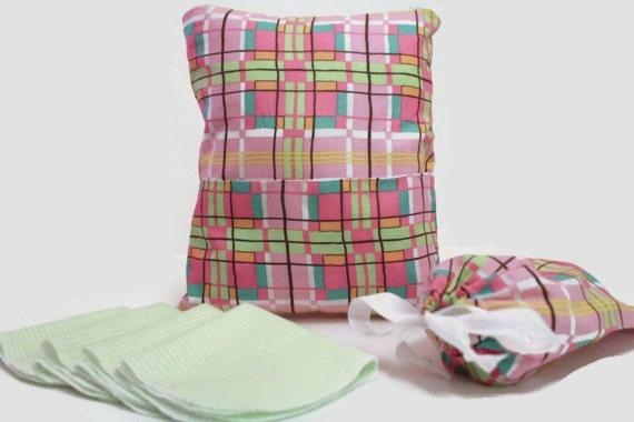 heat sealed wet bag with dry pocket 5 free cloth wipes use. Black Bedroom Furniture Sets. Home Design Ideas