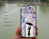 Marc Allante Prints,Dream,Watercolor,Rain,iPhone 5S case,iPhone 5C case,Samsung Galaxy S3 S4,iPhone 4 Case,iPhone 5 Case,iPhone 4S case-177