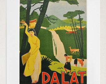 Vietnam Art Print Asian Home Decor Poster (XR107)