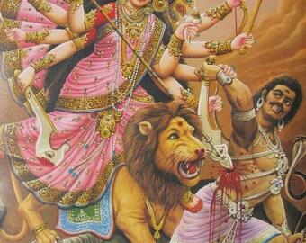 Durga Bhavani Maa  ... Large Sized Hindu Print