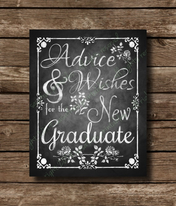 Breathtaking image pertaining to advice for the graduate free printable