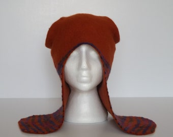 Orange hat for women