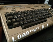 """Commodore 64 LOAD""""*"""",8,1 Load Star C64 Decal"""
