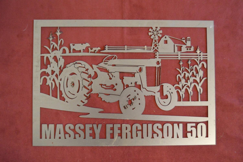 d coupe m tal de tracteur massey ferguson 50 signe du vietnam. Black Bedroom Furniture Sets. Home Design Ideas