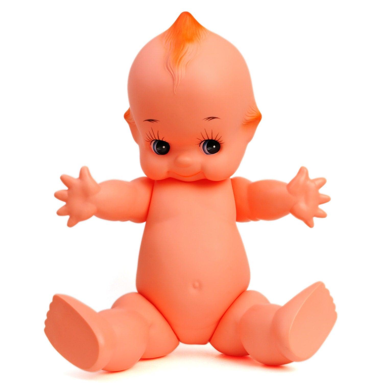 Large Big Kewpie Doll Baby Cupie Vintage Antique Cameo