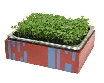 Small Microgreens Microfarm (Sub-irrigated Planter)
