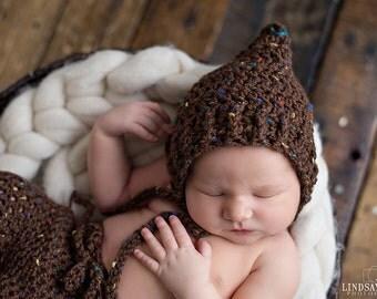 Newborn Pixie hat, pixie hat, newborn hat, baby hat, baby pixie hat