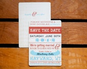 Cozy Cabin Save the Date ...