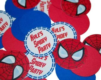 Spiderman Superheroes Confetti