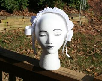 White Shiro Lolita Headband