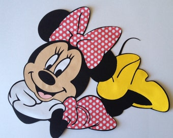 "11"" Long Minnie Mouse party decoration"