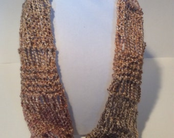Ladder Cowl Infinity Scarf