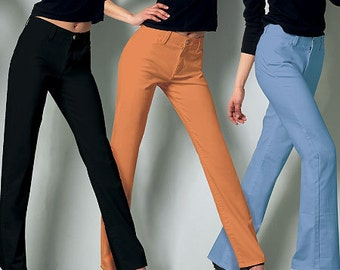 McCall's Sewing Pattern M6610 Misses'/Miss Petite Five Pocket Jeans