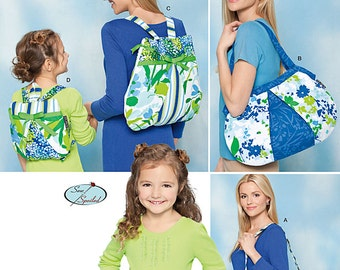 Simplicity Sewing Pattern 1824 Bags