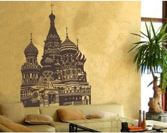 Kreml wall decal, sticker, mural, vinyl wall art
