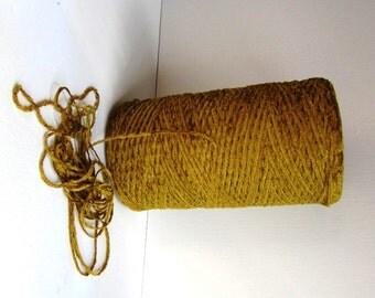chenille yarn rayon gold