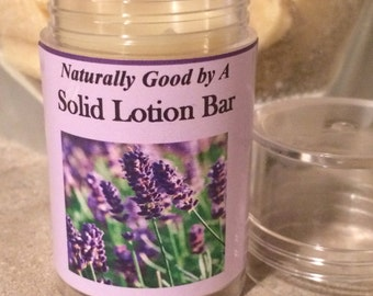 Solid Lotion Bar Tubes