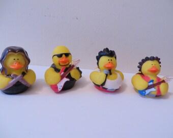 Rock Band rubber ducks - Rock the night away!