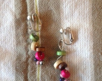 Handmade Post and  Clip-On earrings