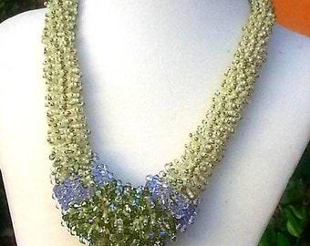 Jewelry Handmade Necklace Sophie's Garden