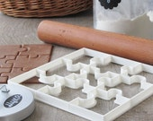 Puzzle cookie cutter set