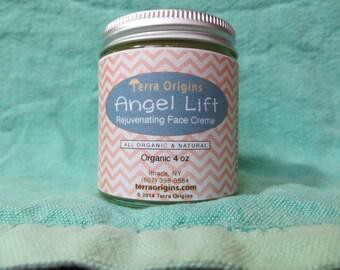 Antiaging Organic Face Cream- 4 oz.