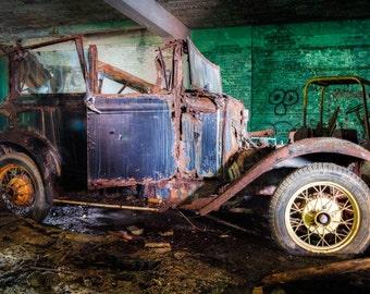 Abandoned Vintage Ford