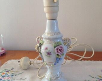 vintage dresden lamp base