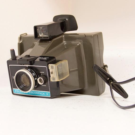 polaroid colorpack ii land camera. Black Bedroom Furniture Sets. Home Design Ideas