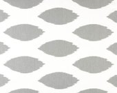 """Premier Prints Fabric by the yard-IKAT Chipper Storm Grey Gray or choose from 4 colors-54"""" wide-yard yardage decorator fabric FAST SHIPPING"""