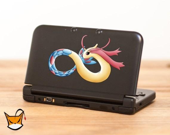 Milotic Pokemon sticker decal pour Nintendo 3DS XL, 3DS, MacBook et tous les autres appareils ! ma091