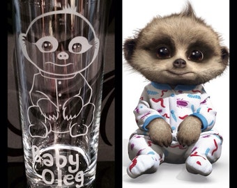 Knitting Pattern For Baby Oleg : oleg meerkat on Etsy, a global handmade and vintage marketplace.