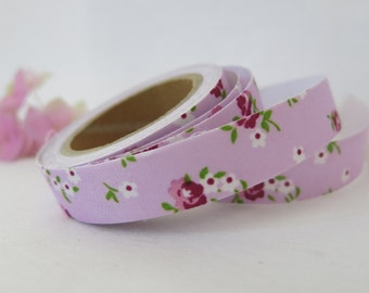 Floral Fabric Tape / Adhesive Decoration Fabric Tape  FT011
