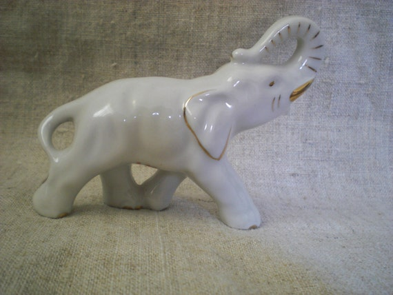 Paperweight Elephant Figurine Lucky Elephant By