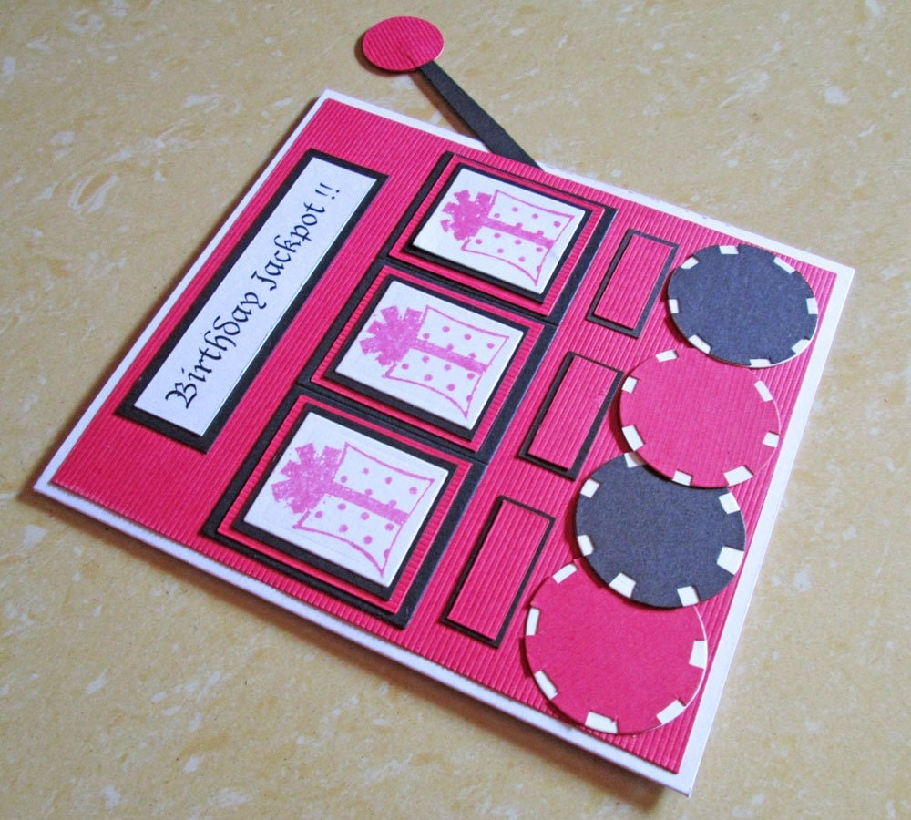 Casino Happy Birthday Card Slot Machine Birthday Card Slots – Poker Birthday Cards