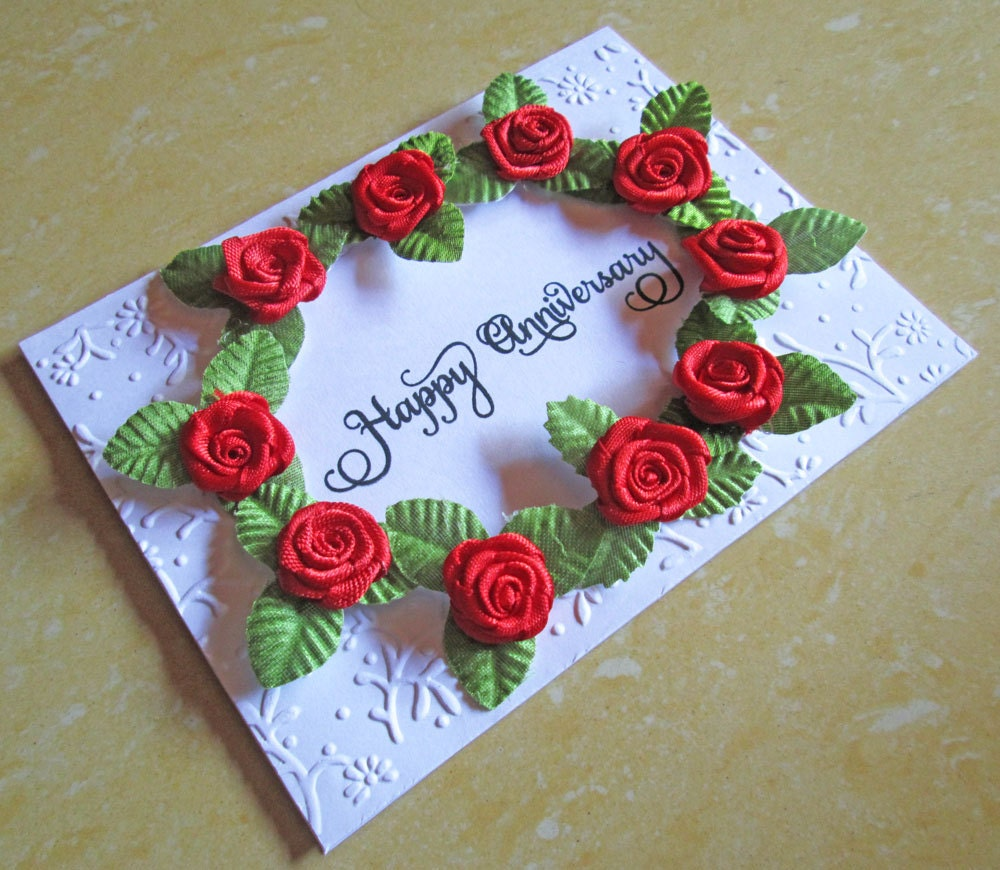 Wedding Anniversary Wishes: Wedding Anniversary Card / Silver Wedding Anniversary Card/
