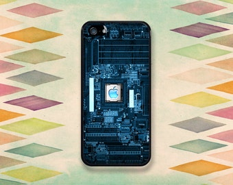 Circuit Board Computer Inspired Case: iPhone 4 // 4s, 5c or 5 // 5s